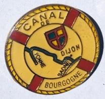 CANAL DE BOURGOGNE - YONNE - SAONE - DIJON - BOUEE - FRANCE -    (25) - Schiffahrt