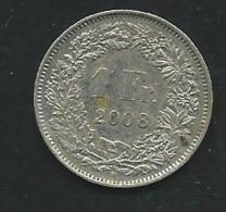 Switzerland Swiss 1 Franc 2008 Laupi 12307 - Suisse