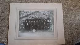 SAINT PIERRE DES LANDES - COMPAGNIE DES SAPEURS POMPIERS - 1936 - PHOTO FLEURY - 53 - Beroepen