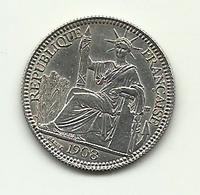 1908 - Indocina Francese 10 Cent - Colonie