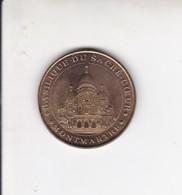 Medaille Jeton Touristique Monnaie De Paris MDP  Basilique Du Sacre Cœur Montmartre 2002 - Monnaie De Paris