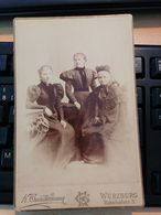 K.GUNDERMANN WÜRZBURG CARDBOARD PHOTO... - Cartes Postales
