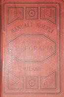 Manuali Hoepli - R. Ferrini - Telegrafia - Ed. 1890 - Books, Magazines, Comics