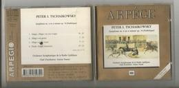 CD. Arpège ,Peter L. Tschaikowsky ,Symphonie N°6  En SI Mineur Op. 74 , Ed. DDD, 1990 - Classique