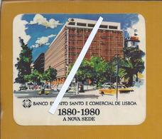 Autocolante Edificio Sede Banco Espirito Santo E Comercial De Lisboa 1980. Sticker Building Headquarters BESCL - Bank & Insurance