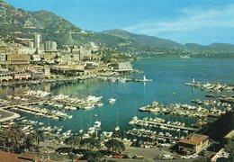 Monaco Belle Vue Aérienne Le Port Bateaux - Hafen