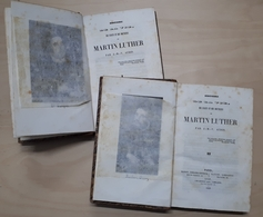 Biografia - J. M. V. Audin - Histoire De La Vie De Martin Luther - Ed. 1839 - Books, Magazines, Comics