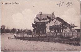 08. VOUZIERS. La Gare - Vouziers