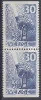 +Sweden 1958. Steel Production. Pair. Michel 441. MNH(**) - Sweden