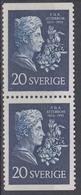 +Sweden 1955. Atterbom. Pair. Michel 411. MNH(**) - Sweden