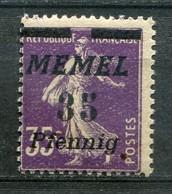 Memelgebiet Klaipeda French Mandate Mi# 84 Postfrisch/MNH - Sower Type - Germany
