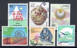 Giappone 1992, Sei Valori (o) - 1989-... Emperor Akihito (Heisei Era)