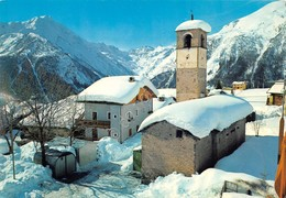 Cartolina Cogne Gimillian Panorama Parziale - Italy