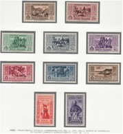 ITALIA 1932 COLONIE E POSSEDIMENTI EGEO 1932 COO SERIE GARIBALDI  SASSONE S.56  MNH PERFETTI E SPLENDIDI CV € 600+ - Aegean (Coo)
