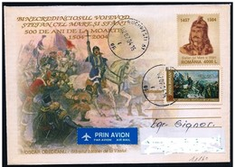 Romania/Roumanie: Intero, Stationery, Entier, Stefano Il Grande, Etienne Le Grand, Stephen The Great, Stefan Cel Mare - Royalties, Royals