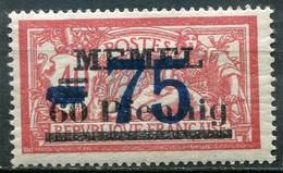 Memelgebiet Klaipeda French Mandate Mi# 49 Postfrisch/MNH - Allegory Type - Germany