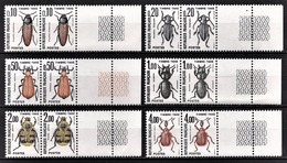 FRANCE  1960 / 1983 - SERIE 6 PAIRES / Y.T. N° 103 A 108 - NEUFS** - Postage Due