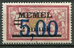 Memelgebiet Klaipeda French Mandate Mi# 51 Postfrisch/MNH - Allegory Type - Germany