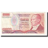 Billet, Turquie, 20,000 Lira, 1970, 1970-10-14, KM:202, TTB - Türkei