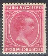 Sello 20 Cts PUERTO RICO, Colonia Española 1894, Num 113 ** - Puerto Rico