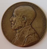 Médaille Pierre Tempels Franc Maçon En Bronze Signée Ch Samuel 1921 - Belgien