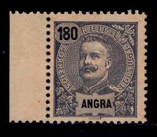 ! ! Angra - 1898 D. Carlos 180 R - Af. 34 - No Gum - Angra