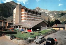 Cartolina Courmayeur Grand Hotel Royal Auto D'epoca - Italy