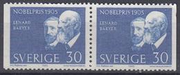 +Sweden 1965. Nobel Price 1905. Pair. Michel 542. MNH(**) - Sweden