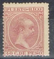 Sello 10 Cts PUERTO RICO, Colonia Española 1894, Num 114 ** - Puerto Rico