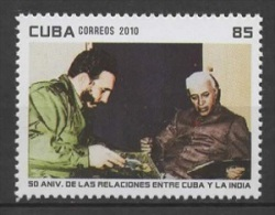 C* (2010) Yv. 4831  /  President - India Relationship - Cuba