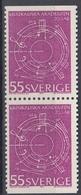 +Sweden 1971. Music Academy. Pair. Michel 713. MNH(**) - Sweden
