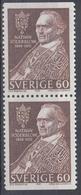 +Sweden 1966. Söderblom. Pair. Michel 544. MNH(**) - Sweden