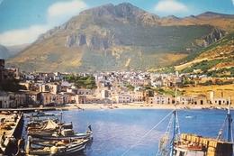 Cartolina - Castellammare Del Golfo - Panorama Dalla Banchina - 1969 - Trapani