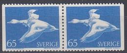 +Sweden 1971. Nils Holgersen. Pair. Michel 733. MNH(**) - Sweden
