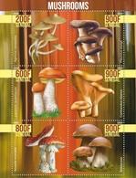 Stamps.. Mushrooms New - Mushrooms