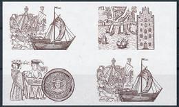 Mi 2545-47 Proof Épreuve Joint Issue Germany / Hanseatic League 650th Anniversary - Saggi E Prove