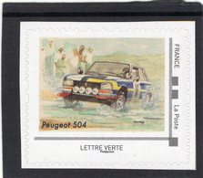 France 2019  -  Peugeot 504 Rallye   -   1v  Timbre Neuf/Mint/MNH - Cars