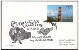 Stati Uniti/États-Unis/United States: Bela Lugosi, Dracula. San Valentino, Valentine's Day, Saint-Valentin - Cinema
