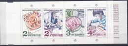 +Sweden 1986. STOCKHOLMIA' 86. Complete Booklet. Michel MH 111. MNH(**) - Carnets