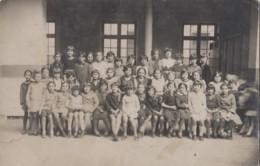 Ecoles - Algérie Alger - Classe De 3ème Rue Négrier - Carte-photo - Schools