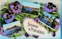 CPSM - MARSEILLE - SOUVENIR (CARTE MULTIVUES) - Marseilles