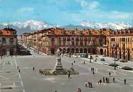 Cartolina Cuneo Piazza Duccio Galimberti Corso Nizza 1980 - Cuneo