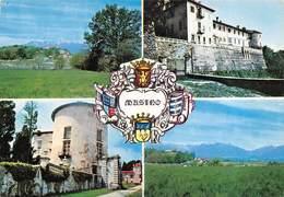 "8205""MASINO""(TORINO) 4 VEDUTE- CARTOLINA POSTALE ORIG. NON SPED. - Italia"