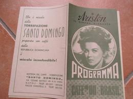 NAPOLI Cinema Elegante ARISTON Programma Film A Piedi Nudi Nel Parco Robert Redford Jane Fonda Pubblicità Epoca - Programs