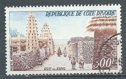 Cote D'Ivoire Poste Aérienne YT N°35 Rue De Kong Oblitéré ° - Côte D'Ivoire (1960-...)