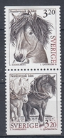 +Sweden 1994. Horses. Pair. Michel 1804-05. MNH(**) - Sweden
