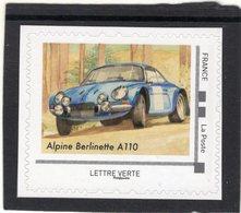 France 2019  -  Alpine Renault A110   -   1v  Timbre Neuf/Mint/MNH - Cars