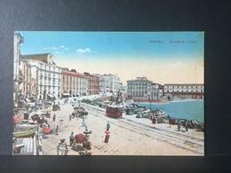 NAPOLI...NEAPEL...NAPLES.....Strada.Santa Lucia....Ed. Erfindungen, Milano - Napoli (Naples)