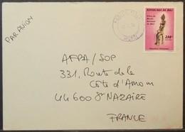 Mali - Cover To France 1999 Art Museum Sculpture 250F Solo - Mali (1959-...)