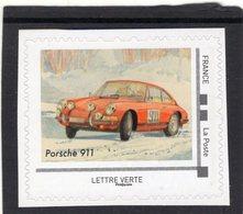 France 2019  -  Porsche 911   -   1v  Timbre Neuf/Mint/MNH - Cars